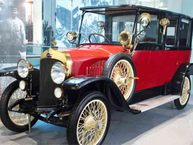 1913 Audi 14-35 hp Type C saloon