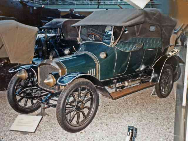 Audi Type A 10-22 PS - <p>On 16 Juli 1909 August Horch founded the new company Audi, just three days before he left the com...