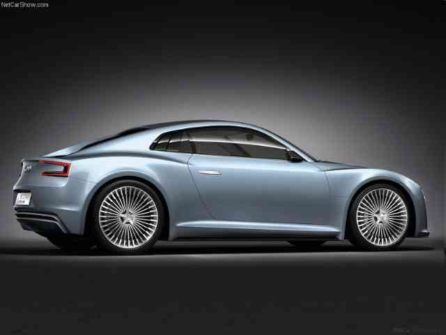 2010 Audi e-tron Concept - Audi e-tron Concept is a sports car and the second electric concept vehicle from Audi company shown ...