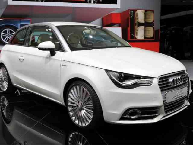 Audi A1 e tron - Audi A1 e-tron is a 4 seater electric vehicle specially designed for traffic in the world's large ci...
