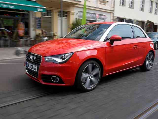 Audi A1 - the smallest Audi car - Audi AG have already sold out 40,000 Audi A1 cars in less than six months.<br /> Audi A1 is available with...