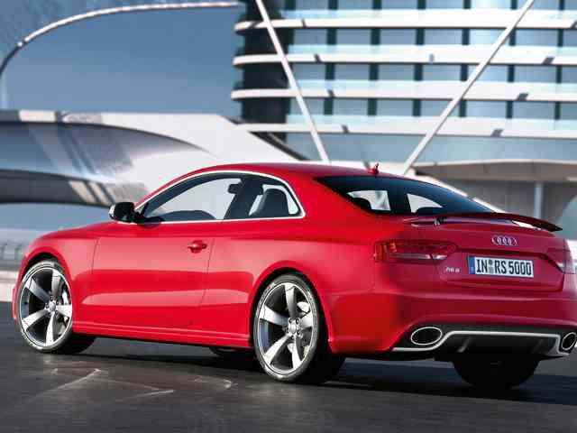 Audi RS5 4.2 V8 FSI - The debut of Audi RS5 4.2 V8 FSI was at the 2010 Geneva Auto Show. Audi RS5 4.2 V8 FSI is Audi high-performance elegant coupe (4WD) with V8 Gasoline engine (4 valves per cylinder) located in front. It... Audi Cars models, news, information, reviews and pictures.