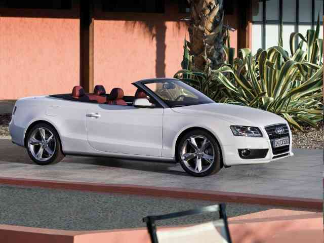 Audi S5 3.0T FSi Quattro Cabriolet Tiptronic - 2010 Audi S5 3.0T FSi Quattro Cabriolet Tiptronic is Audi 2 doors 4 seater Cabriolet car (4WD) with Inline, 6 cylinder Gasoline engine (4 valves per cylinder) located in front. It has Direct injection... Audi Cars models, news, information, reviews and pictures.