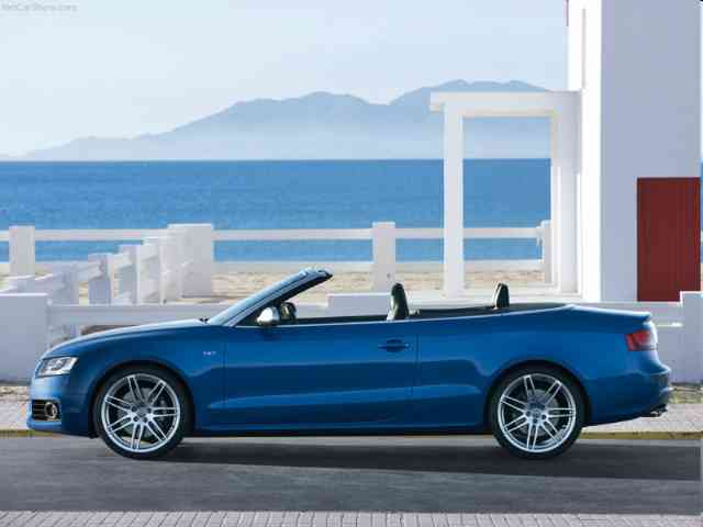 Audi S5 3.0T Premium Plus Cabriolet Quattro - 2010 Audi S5 3.0T Premium Plus Cabriolet Quattro is Audi 2 doors 4 seater Cabriolet car (4WD) with V6 Gasoline engine (4 valves per cylinder) located in front. It has Electronic fuel injection system ... Audi Cars models, news, information, reviews and pictures.