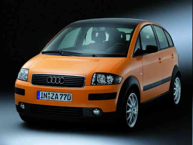 New Audi A2 electric car - A prototype of a new all-electric Audi A2 car completed 600 kilometer drive from Munich to Berlin on...