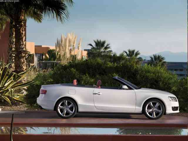 Audi A5 3.2 FSI Cabriolet - 2010 Audi A5 3.2 FSI Cabriolet has powerful V6 gasoline engine with 3,197 ccm displacement. Audi A5 ...