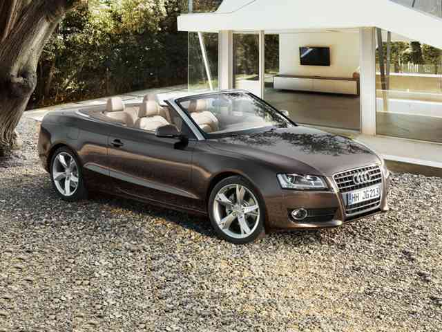 Audi A5 2.0 TFSi Cabriolet 2010 - Audi A5 2.0 TFSi Cabriolet is 2 doors sport car with Gasoline engine wich has Sequential port fuel injection (SFI/SEFI) system and Double overhead cam (DOHC) fuel control. The engine displacement is 1... Audi Cars models, news, information, reviews and pictures.