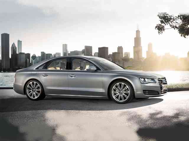 Audi A8 4.2 - 2010 Audi A8 4.2 is 4 doors large Audi luxury car with Gasoline engine wich has injection fuel syste...