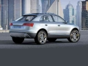 Audi Q3 Crossover - The Audi Q3 crossover is quoted by Audi as 'A coupe-like five-door SUV with seat positions, wheel si...