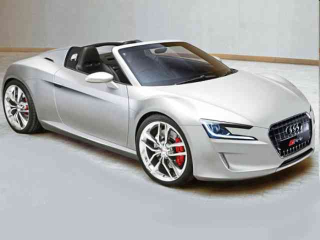 Audi R4 e-tron Roadster - Audi R4 e-tron Roadster is Audi Concept car debuted at this year's Detroit Auto Show. The Detr...