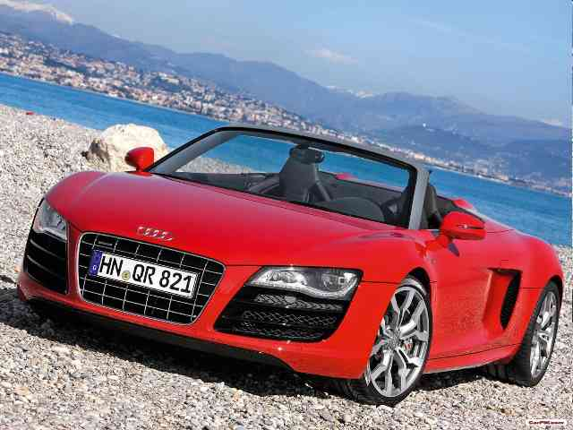 2011 Audi R8 Spyder 5.2 FSI quattro - Audi R8 Spyder 5.2 FSI quattro model 2011 is two-doors 2 seater Audi Cabriolet with Gasoline V10 eng...