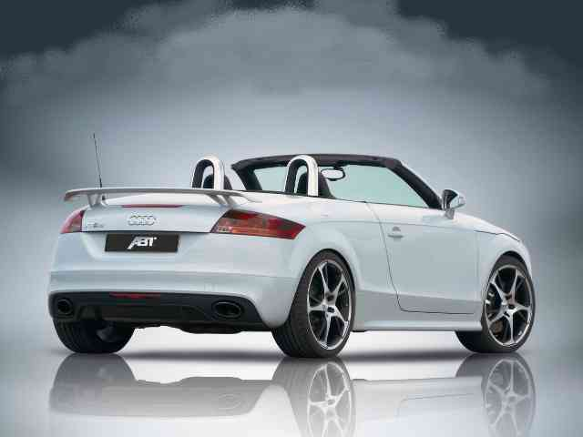 2010 Abt Audi TT-RS - 2010 Abt Audi TT-RS has 2.5 liter engine with an inline of five cylinders, a turbocharged aspiration...