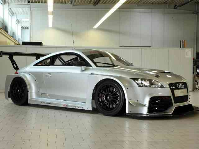 2010 Audi TT-RS DTM racer - Marc Hennerici and Christopher Mies will drive a prototype of an Audi TT RS in the final two Nurburg...