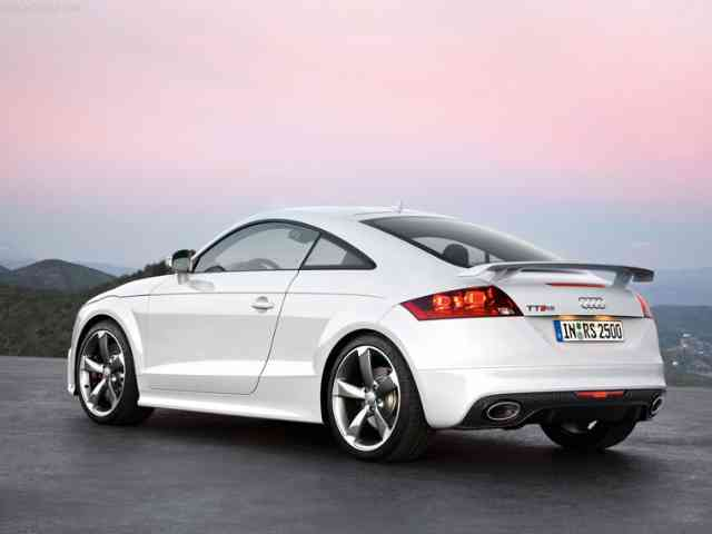 Audi TT 2.5 RS - 2010 Audi TT 2.5 RS is Audi 2 doors 4 passenger sport car (4WD) and is available as a coupe or roads...