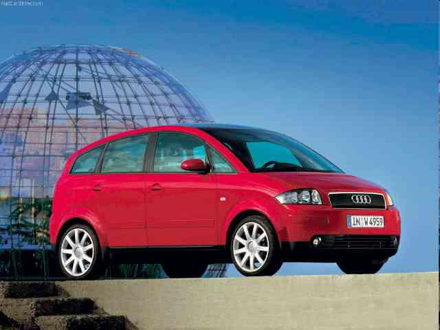 2002 Audi A2 - Audi A2 was produced in 5 modifications - three cylinder diesel engines and two petrol engines