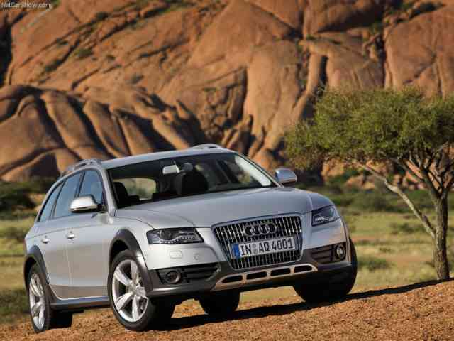 2010 Audi A4 allroad quattro - Audi offers the Audi A4 allroad quattro with three different engines: a gasoline 2-liter TFSI engine...