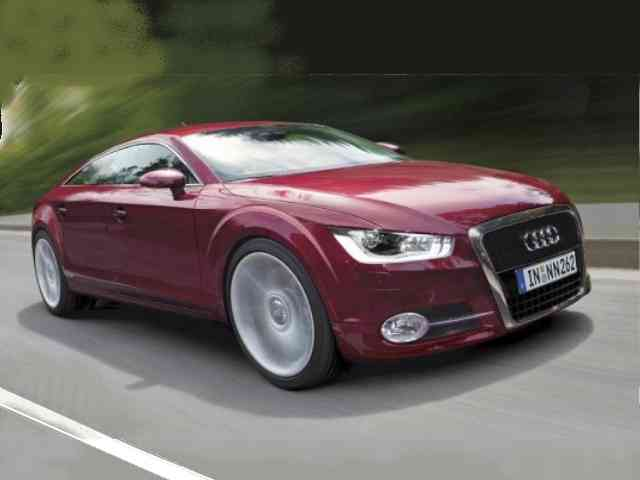 Audi A7 2010 - Audi A7 2010 Sportback will be four seats Audi sports car and there will be a selection of petrol-(2...