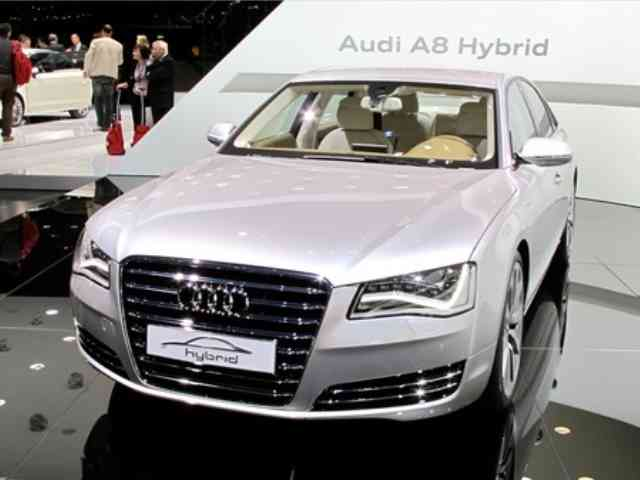 Audi A8 Hybrid concept - Audi A8 Hybrid concept has 2-liter, 4-cylinder gasoline engine that is turbocharged with fuel direct...